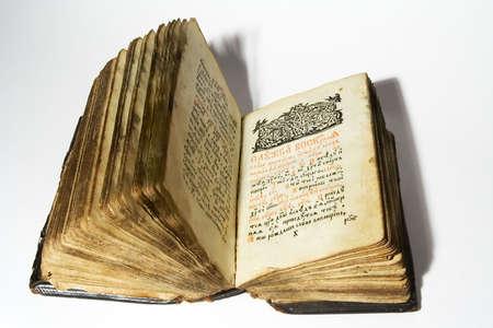 Slavo antico libro di preghiere