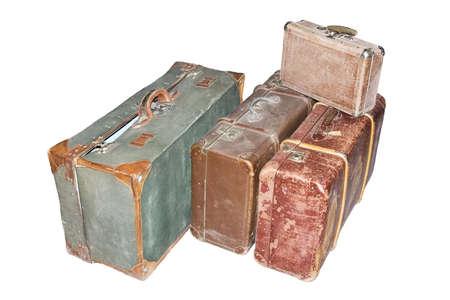 titanic: Old valises