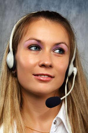 The operator Stock Photo - 605641