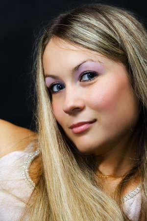 Portrait attractive girl