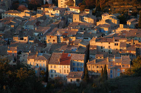 Provencal roofings of NYONS - DROME Stock Photo - 1053175