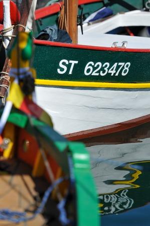 small fishing boat Editorial