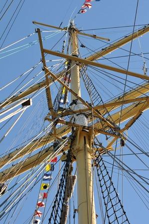 rigging: sailboat rigging
