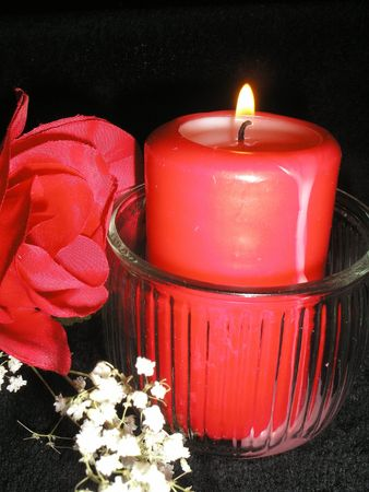 Candle Stock Photo