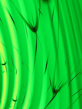 Fractal image of the abstract close up detail of wheat, grain or grass. photo