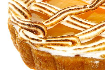 Cake. Macro  photo