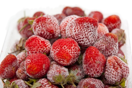 strawberry in container Stock Photo - 16556087