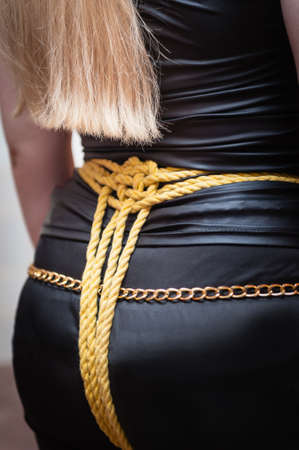 Bound Girl photo