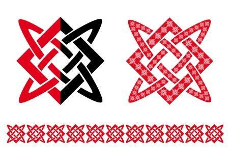 slavic: Slavic Star Illustration