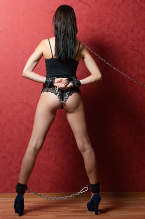 Chained Girl photo