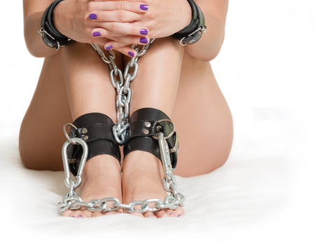 Hands and Legs in shackles photo