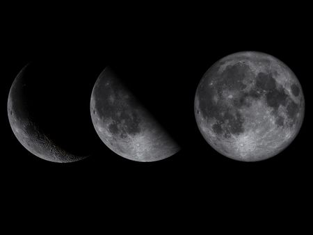 Moon Phases Stock Photo - 489795