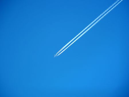 Jetlines Stock Photo