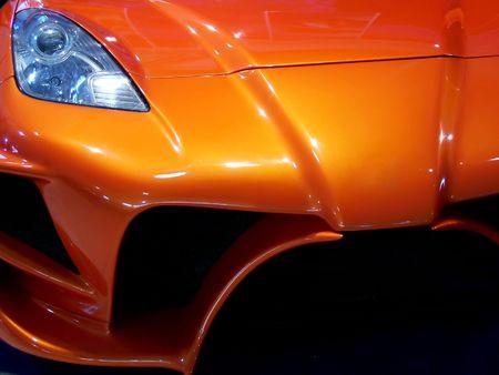 Tuned Customised Cars Stock Photo