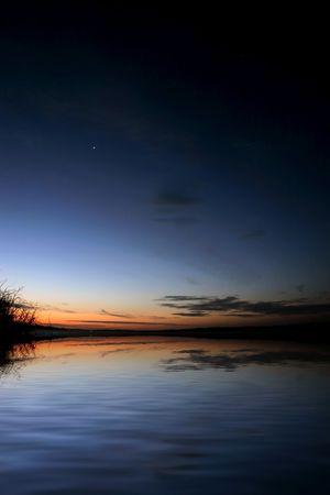 Dusk on Lake