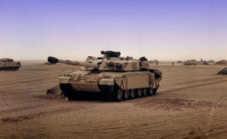 war tank: M�quinas De la Guerra Foto de archivo