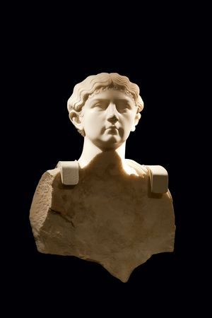 1st century: An authentic Roman marble from the 1st Century AD