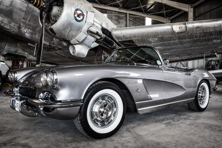 Beautiful classic American automobile - Corvette 1962