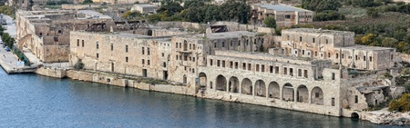 The Lazaretto on Manoel Island in Malta.  Built in 1726, and famous for hosting Lord Byron in 1811, as well as Sir Walter Scott in 1831.