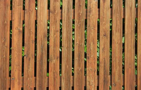 keepout: Wooden fence for use as texture or background Stock Photo