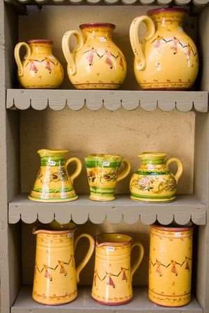 functional: Functional and decorative Provence pottery