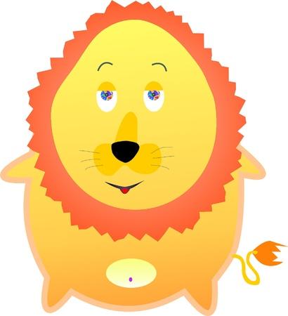 mamal: lion egg Illustration