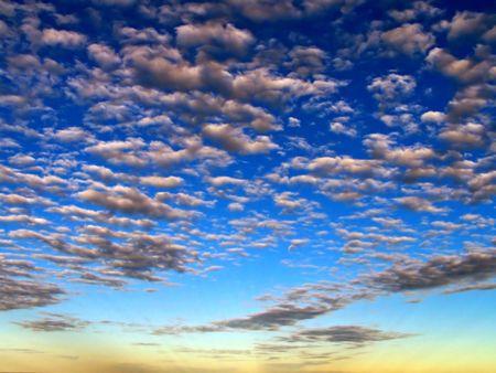 clouds, sun, sky