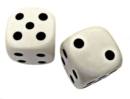 sided: six sided dice Stock Photo
