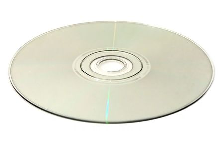 an optical disc: DVD, CD, HDDVD, Blu-ray Stock Photo