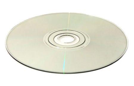 cd rom: an optical disc: DVD, CD, HDDVD, Blu-ray Stock Photo