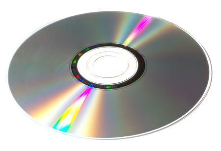cd: an optical disc: DVD, CD, HDDVD, Blu-ray Stock Photo