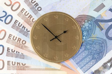 Image depicting the concept time is money photo