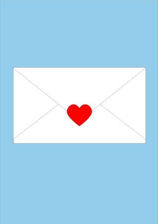 sealed: Envelope sealed with love.