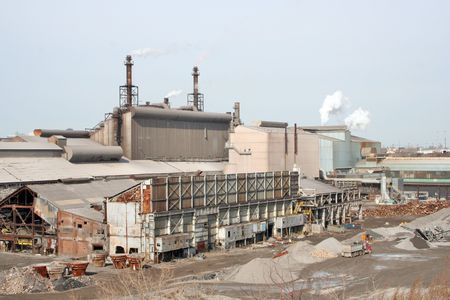 A steel plant industry Stock Photo - 326112