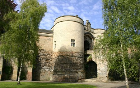 Nottingham Castle, England, U.K. Associated with the legend of Robin Hood and the site of the start of the English Civil War photo