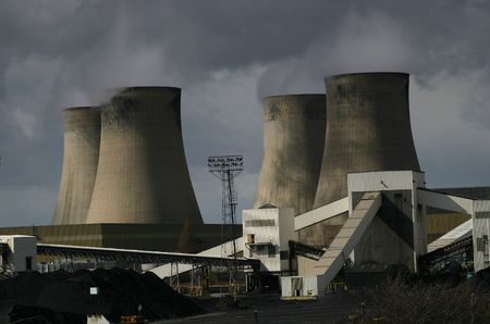 A Coal Burning Power Station