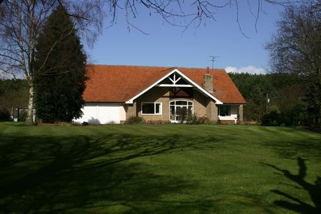 An English House In A Rural Location