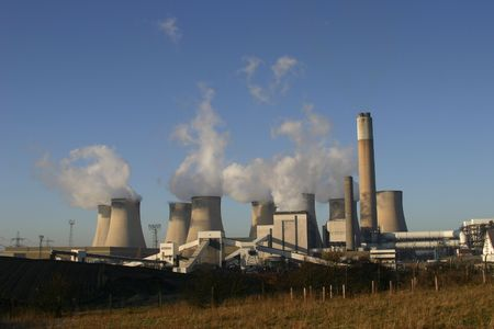 Coal Burning Power Station