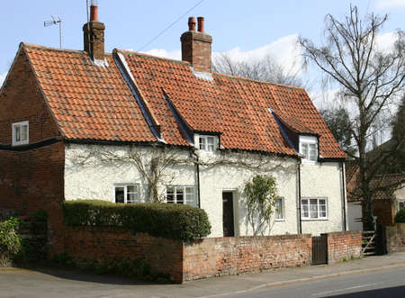 A Cottage In An English Village Stock Photo - 895852