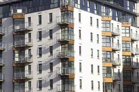 Modern Apartments In A U.K. City photo
