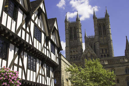 Lincoln Cathedral in the historic city of Lincoln, England, U.K.