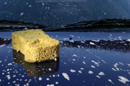 auto lavado: Lavado de coches  Foto de archivo