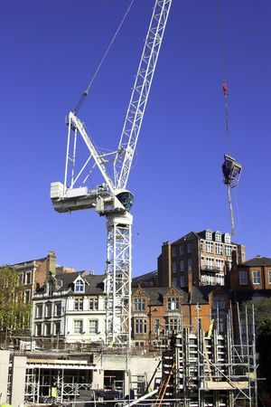Tower Crane On A Construction Site