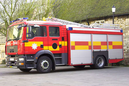 british man: Fire Engine