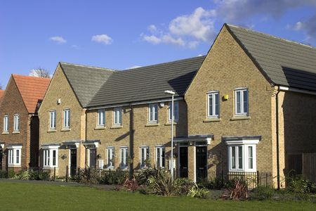Modern Town Houses Stock Photo - 2859376