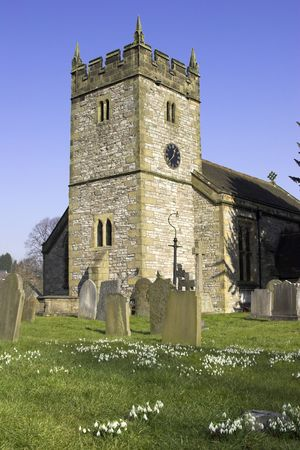 Village Church, Derbyshire, England, U.K.