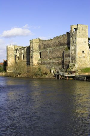 Newark Castle, Newark On Trent, Nottinghamshire, England, U.K. Фото со стока