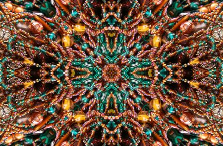 beaded: Native American Beaded Abstract Background Stock Photo