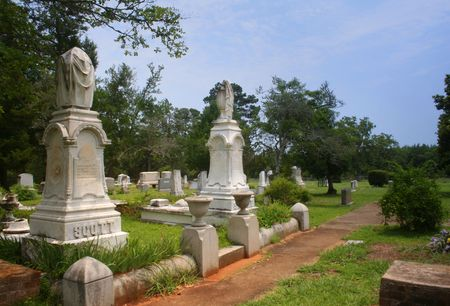 Historic Scottsville Cemetery, Scottsville Texas photo