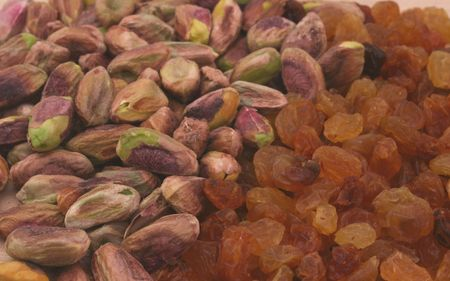 sultana: Pistacio Nuts and Sultana Raisins From the Middle East
